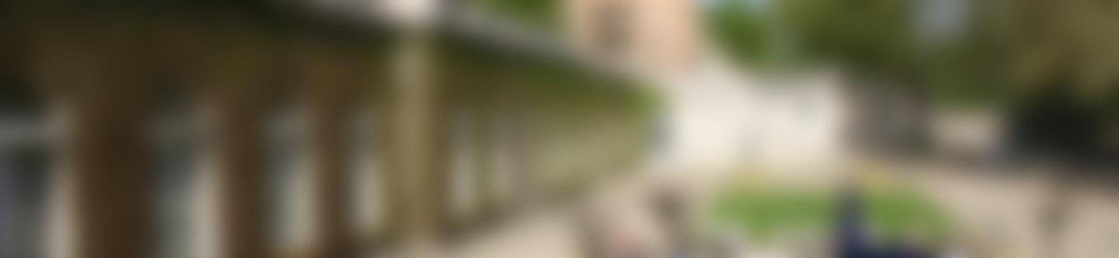 Blurred caf im koernerpark neukoelln