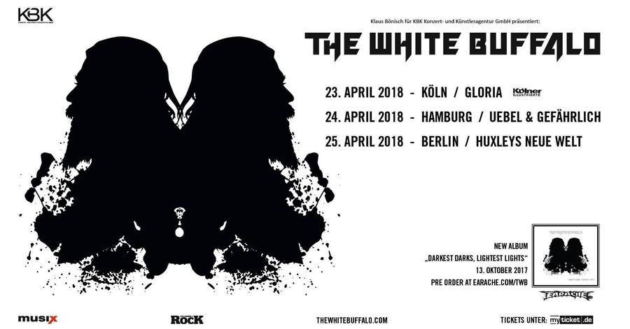 Kbk Köln the white buffalo köln 23 04 2018 20 00 gloria ask helmut