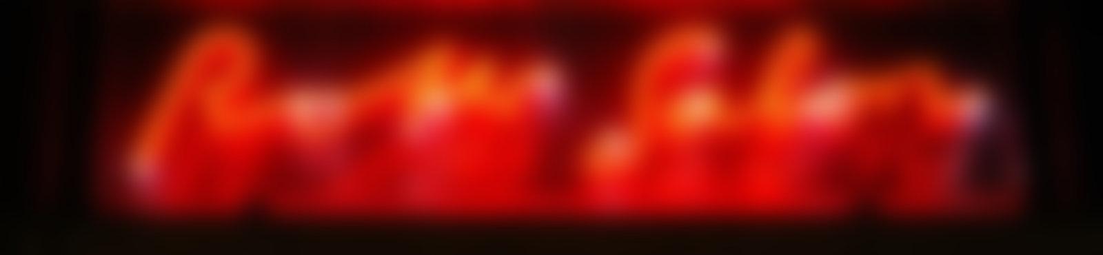 Blurred roter salon